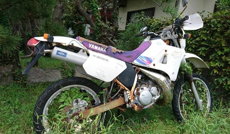 廃棄されたバイクの売買